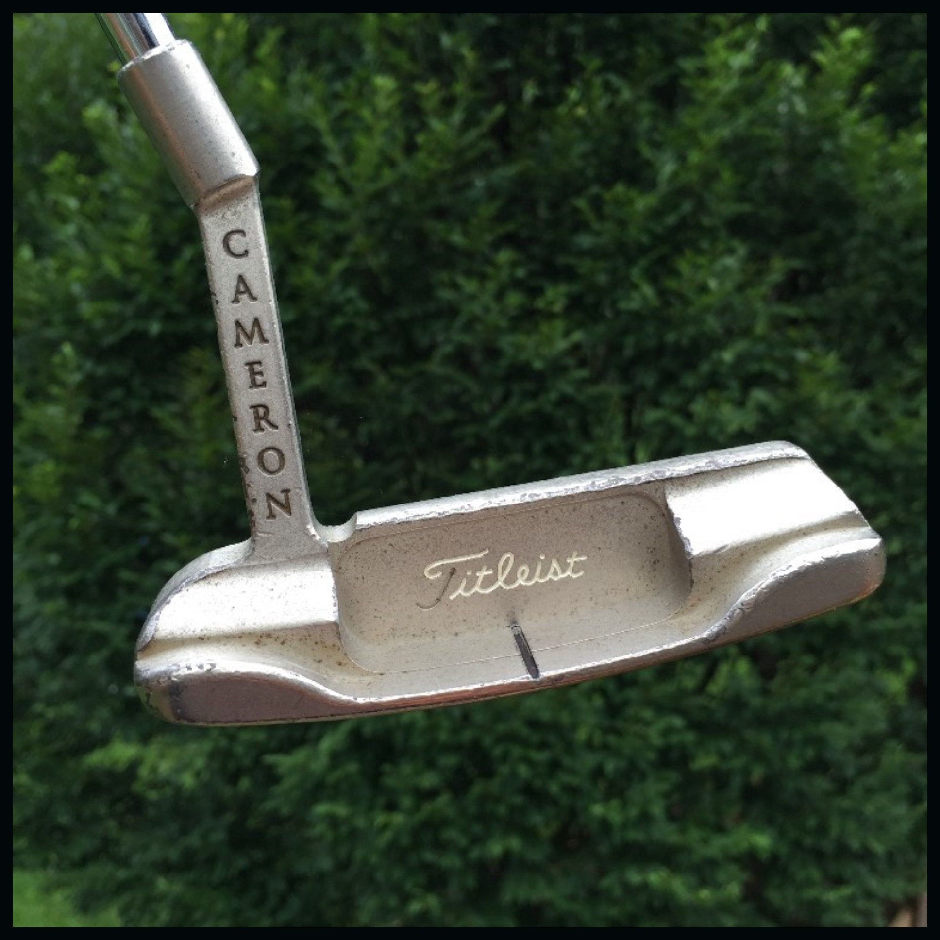 Scotty Cameron carbon steel putter