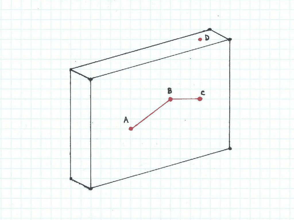 Three Dimensional Box in Space