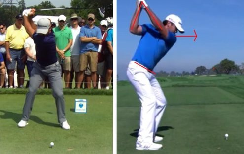 Jason Day top of Swing