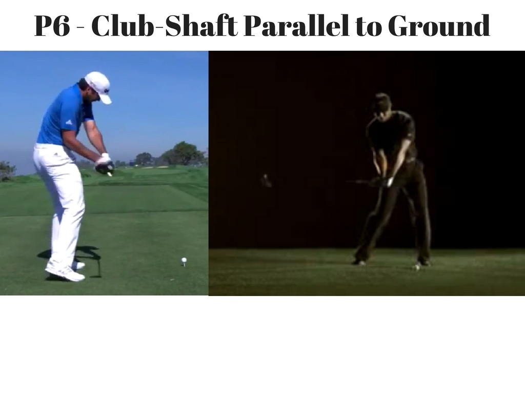 The Positions of the Golf Swing (P Classification system) | The DIY Golfer